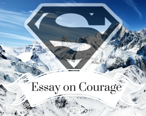 Content essay on courage