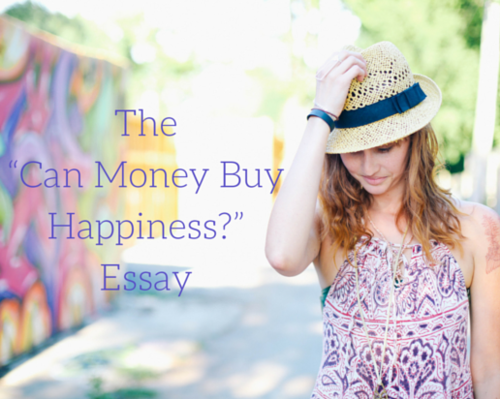 Content the  can money buy happiness   essay